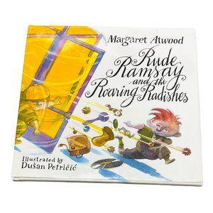 Margaret Atwood Rude Ramsay Hardcover Book